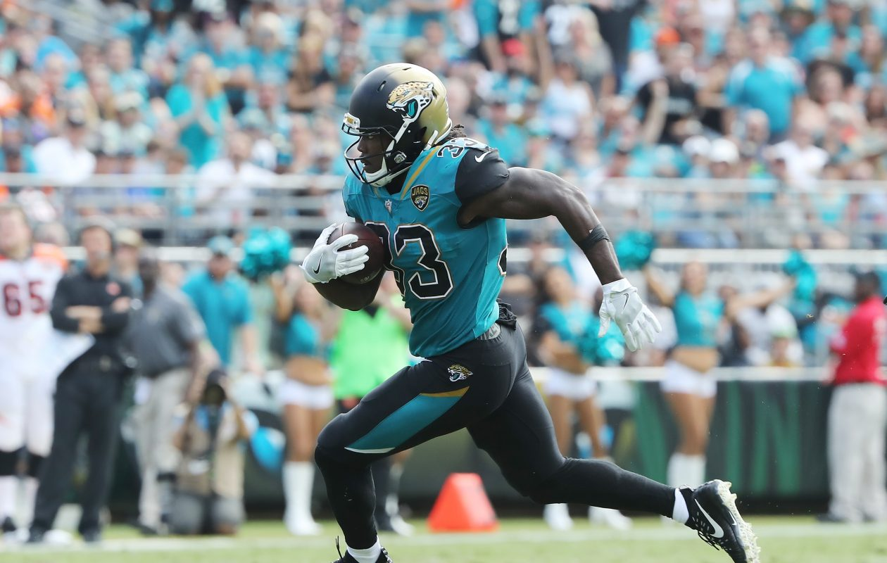 The Bills added former Jaguars running back Chris Ivory to their roster Tuesday. (Getty Images)