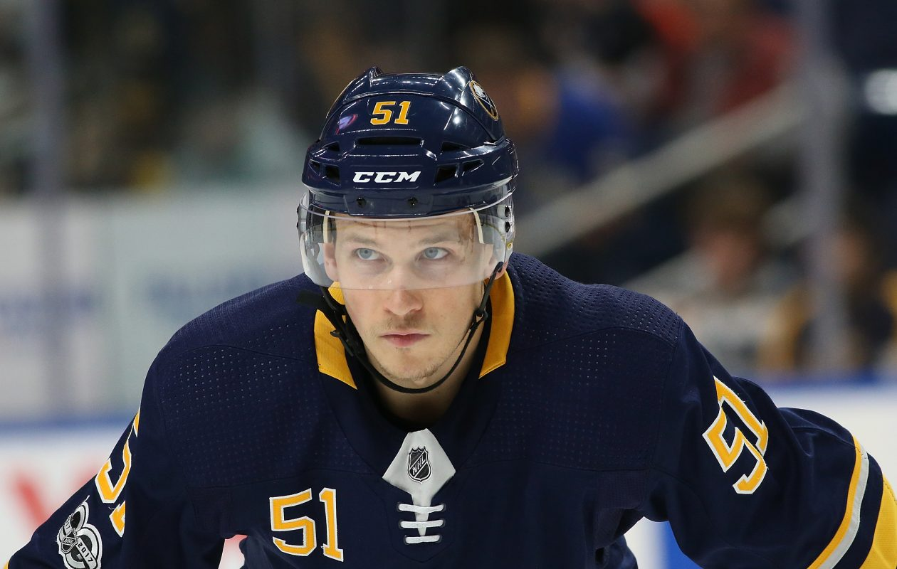 Kyle Criscuolo earned his second call-up to the Sabres. (Getty Images)