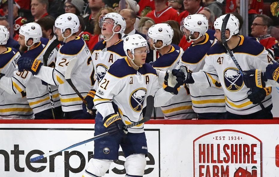 The Sabres weren't the only ones worried when Kyle Okposo (21) suffered a concussion last week. (Getty Images)