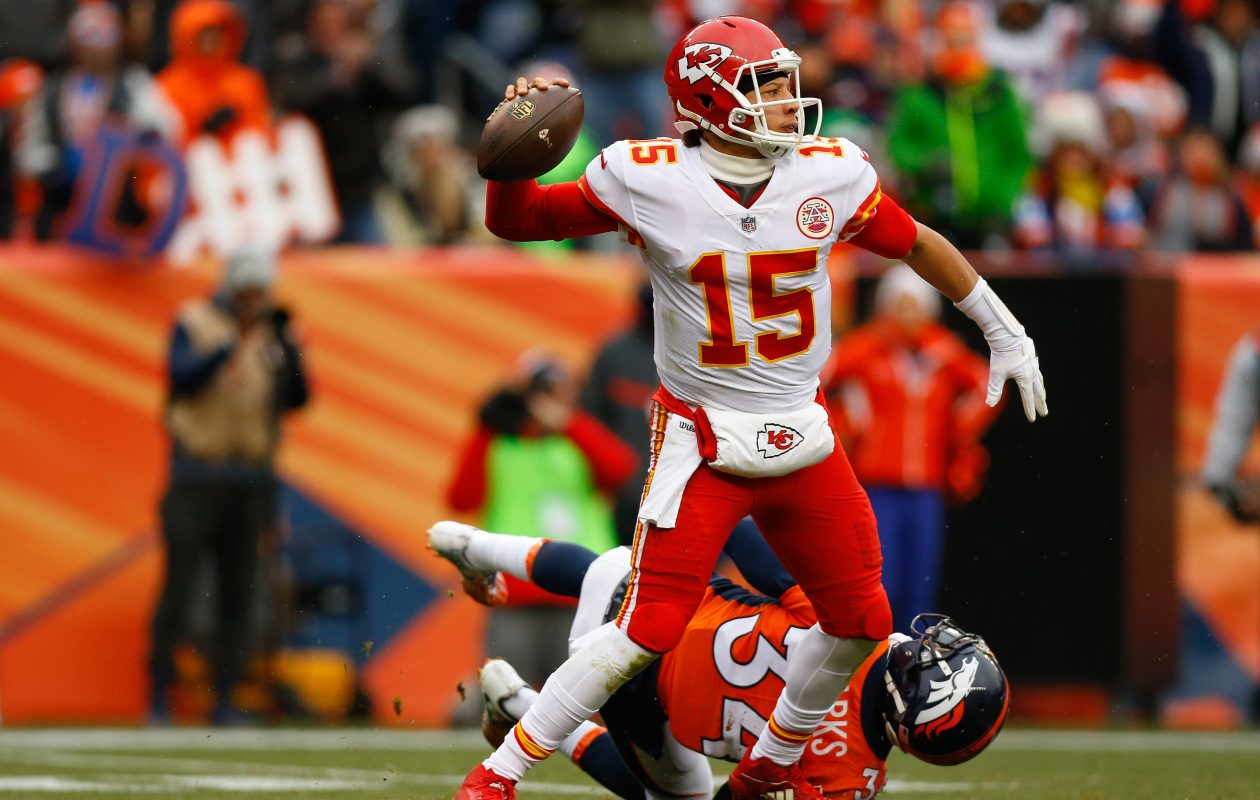 The Buffalo Bills passed up a chance to draft quarterback Patrick Mahomes last year. (Getty Images)
