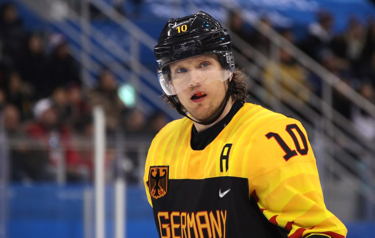 Christian Ehrhoff helped Germany to an unexpected silver medal at the Olympics last month. (Getty Images)
