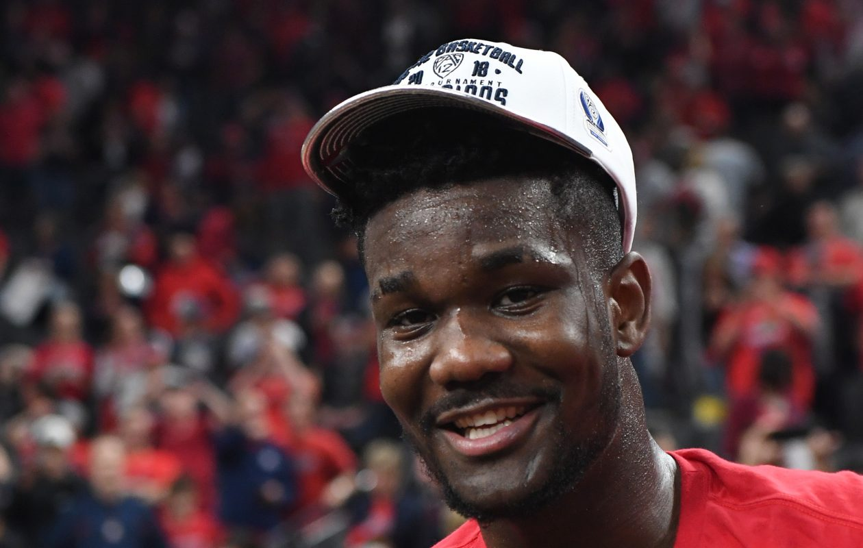 Deandre Ayton is a force for Arizona. (Getty Images)