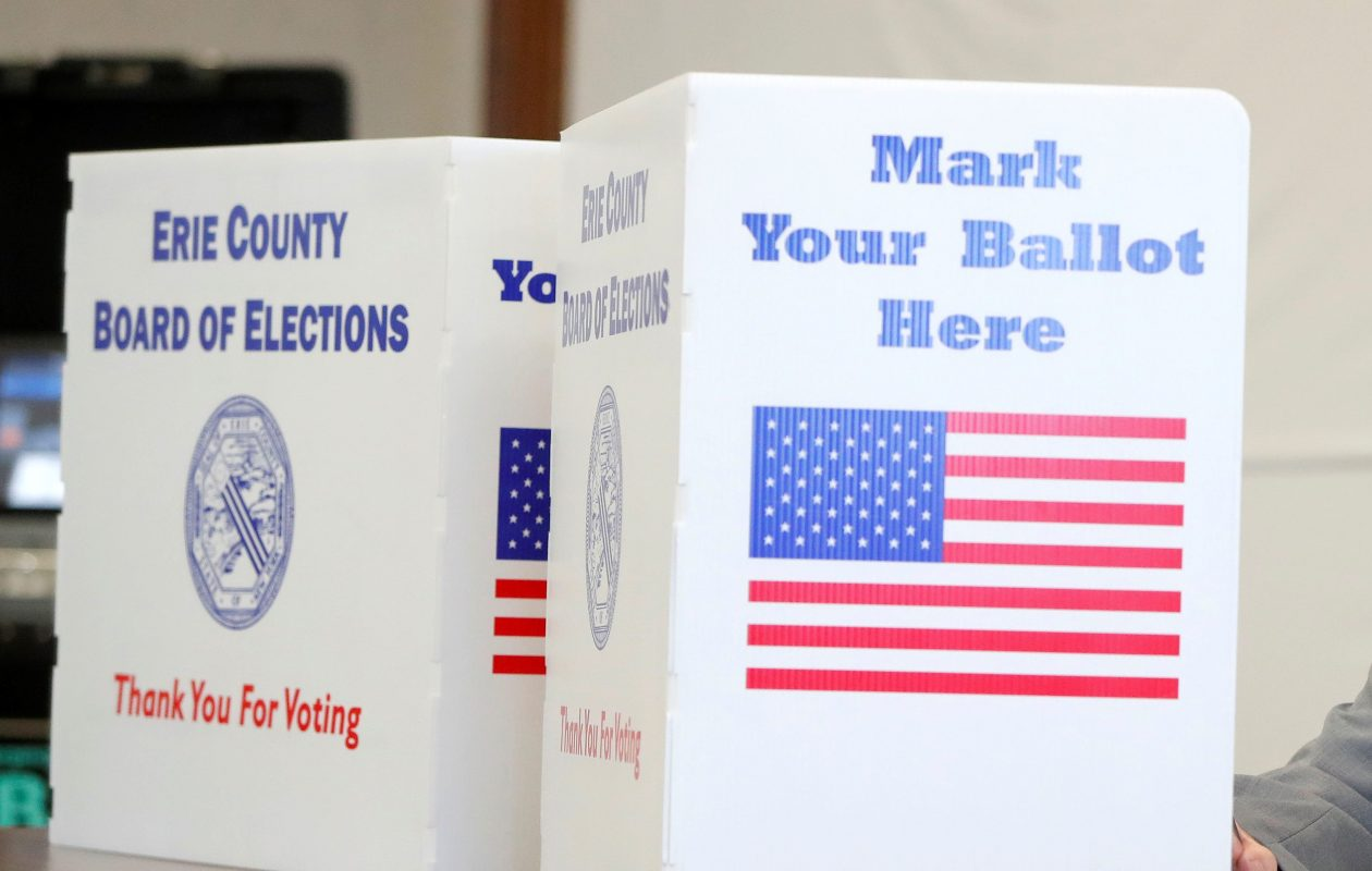 Voters will hit the polls in area village primaries on March 20. (Buffalo News file photo)