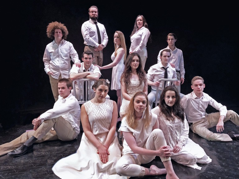 MusicalFare Theatre's production of 'Spring Awakening' is now on stage in Shea's 710 Theatre.