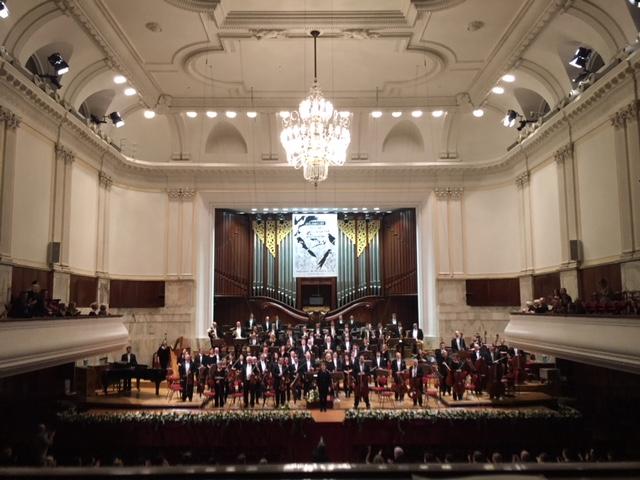 The BPO in Warsaw. (Photos courtesy Buffalo Philharmonic Orchestra.)