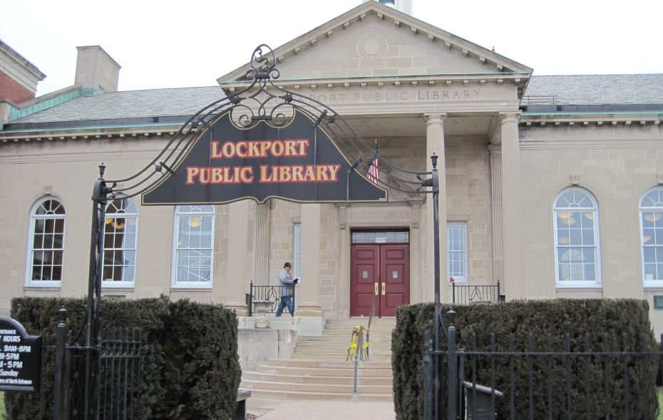 Lockport Public Library. (News file photo)
