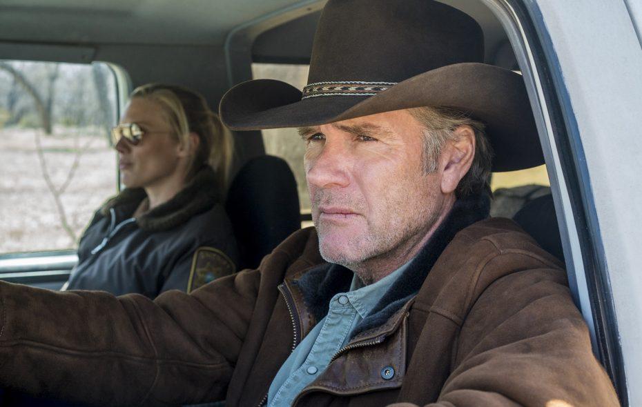 "Robert Taylor and Katee Sackhoff star in ""Longmire."" (Lewis Jacobs/Netflix)"
