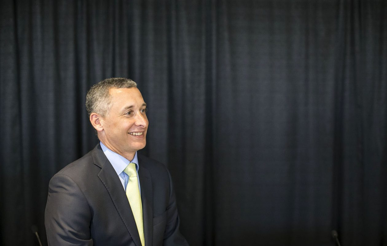 Rene F. Jones was named M&T Bank's chairman and CEO in late 2017. (Derek Gee/News file photo)