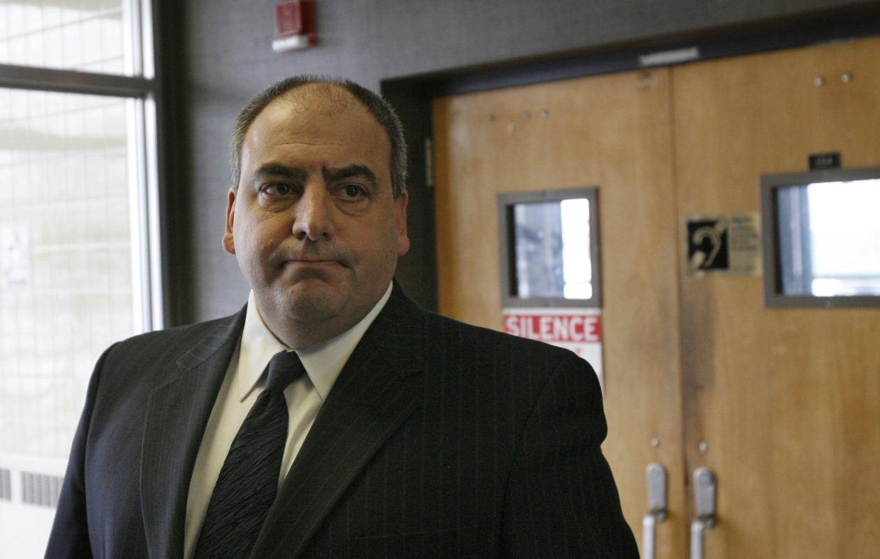 Attorney Mark S. Carney leaves Cheektowga Town Court in this Dec. 22, 2008, file photo. (Derek Gee/Buffalo News)