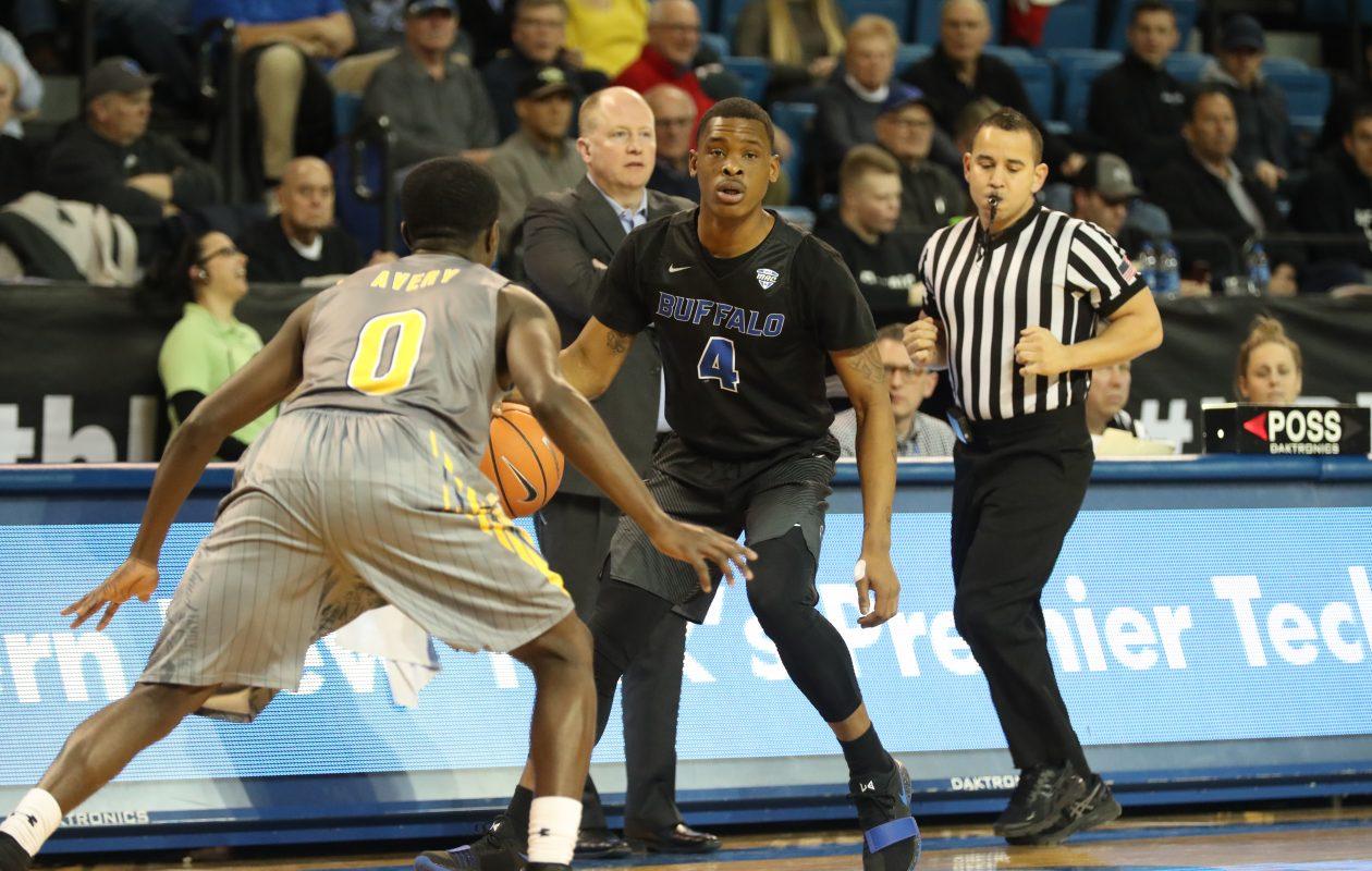 UB's Davonta Jordan (4) vs. Kent State last month. (James P. McCoy / Buffalo News)
