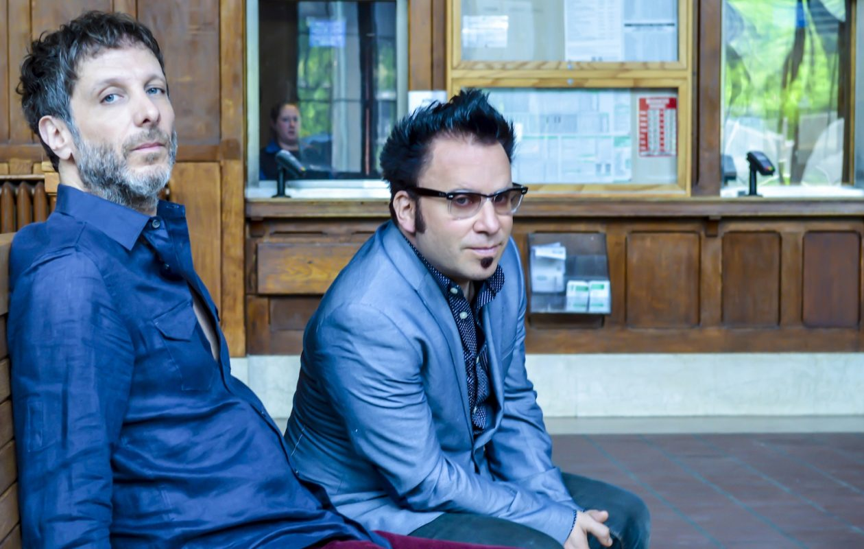 Mercury Rev's Jonathan Donah, left, and Sean 'Grasshopper' Mackowiak were inspired by Tony Conrad's Media Studies class at UB. (Grandstand Media)