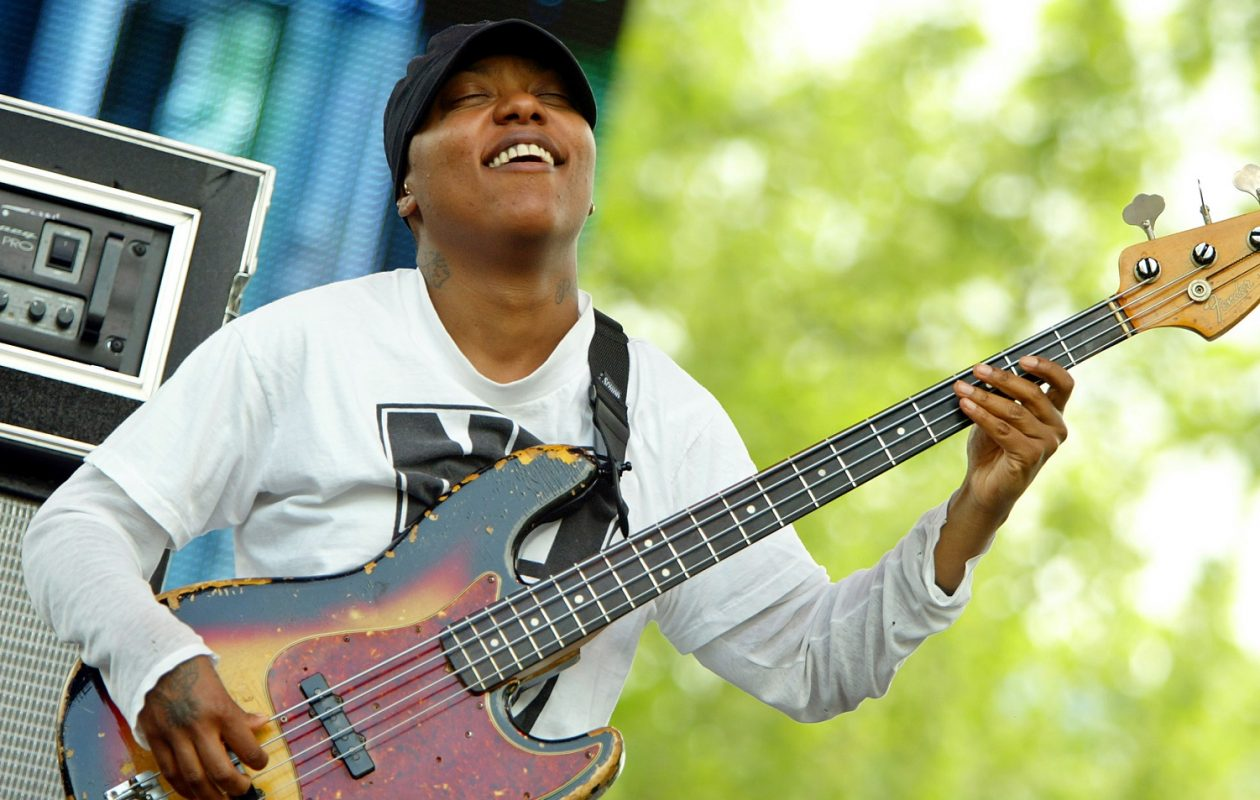 Meshell Ndegeocello  has released 'Ventriloquism,' and Jeff Miers says its as good as modern R&B gets.  (Photo by Scott Gries/Getty Images)
