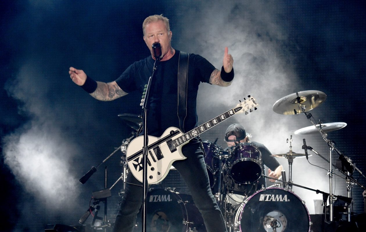 James Hetfield and Metallica return for a show at KeyBank Center. (Getty Images)