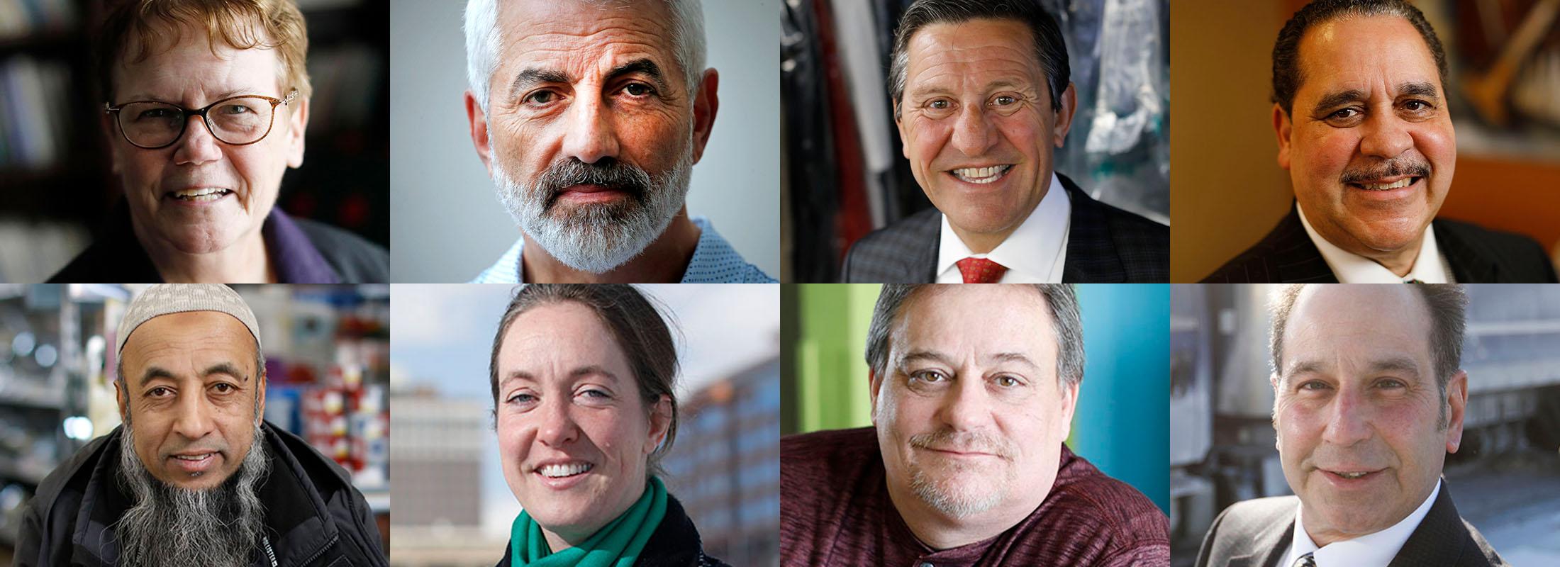 The 2018 Outstanding Citizens. (Buffalo News photos)