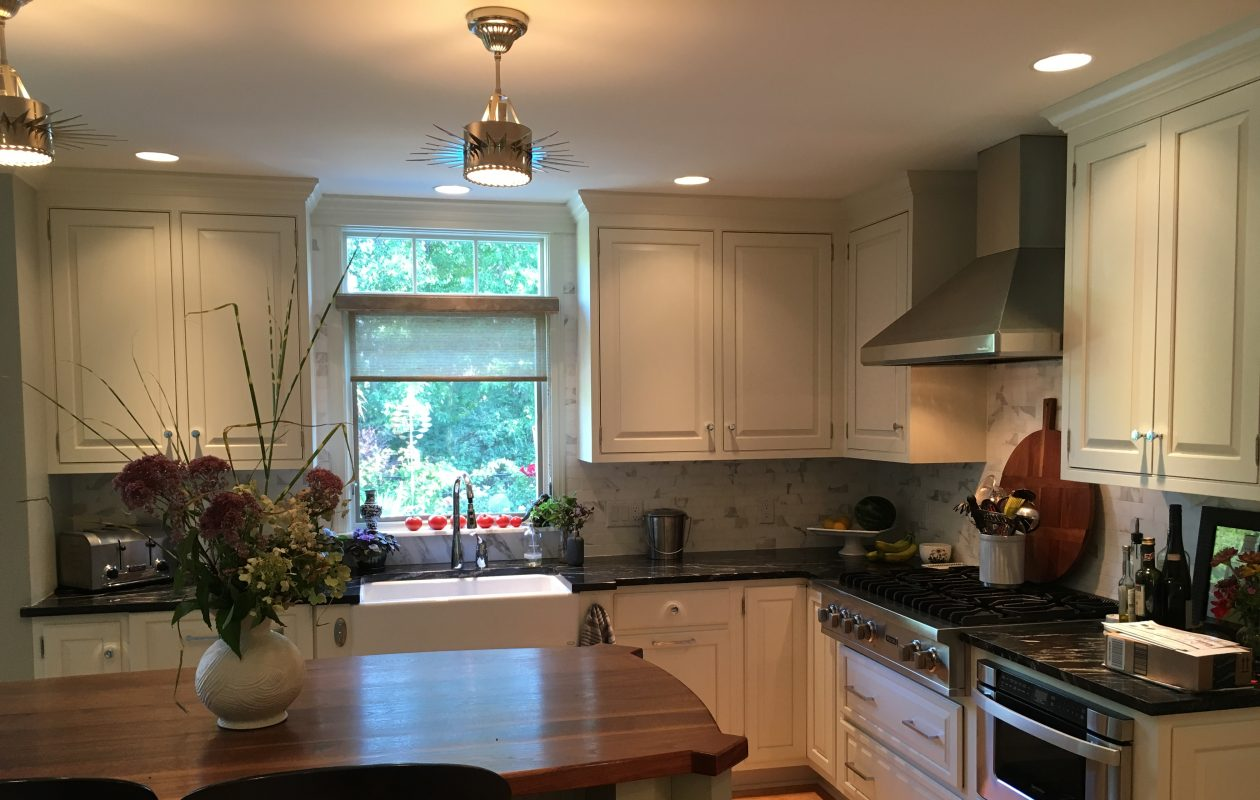 The remodeled kitchen at the Clarence home of Steve and Mary Pabst.  (via Mary Pabst)