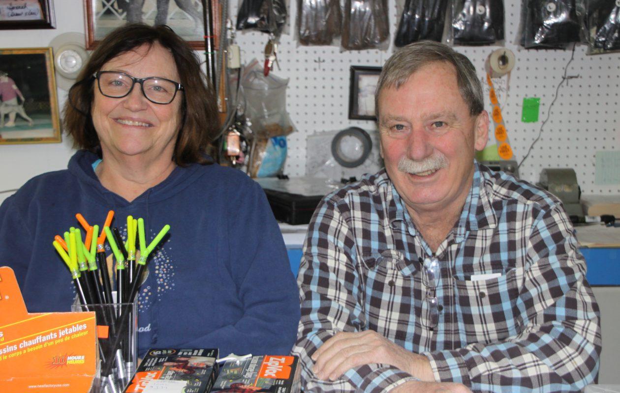 Pat and Bill van Camp.
