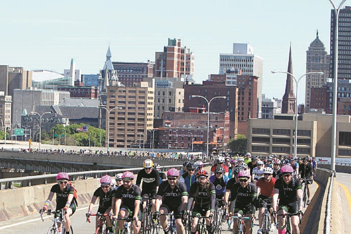This year's Skyride will take place on May 20 and will explore several Buffalo neighborhoods and their concerns.  (Sharon Cantillon/News file photo)