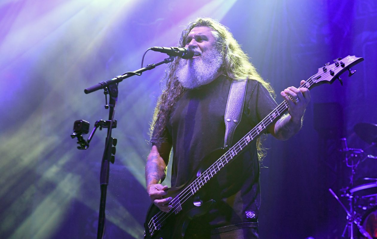 Slayer, with bassist/singer Tom Araya, will bring its final tour to Darien Lake Amphitheater. (Getty Images)