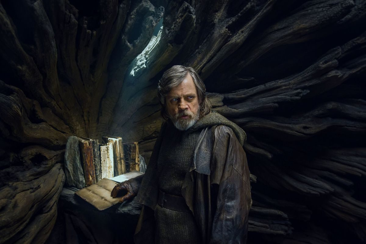 We need to hear more from Mark Hamill in the bonus features on the new home video release of 'Star Wars: The Last Jedi.' (Lucasfilm)