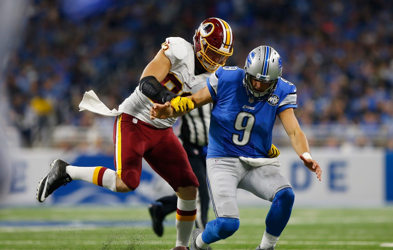 Former Redskins defensive end Trent Murphy entered the NFL as a second-round draft pick. (Getty Images)