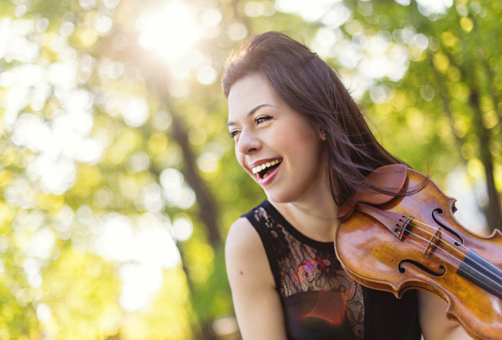 Tessa Lark will perform with the Buffalo Philharmonic Orchestra. (Photo by Kate L. Photography.)