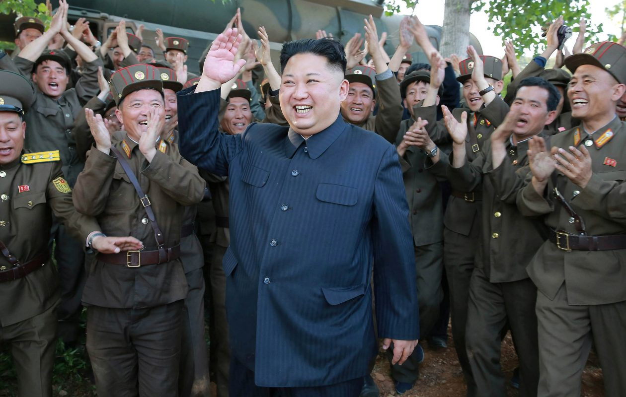 North Korea's leader, Kim Jong Un. (Balkis Press/Abaca Press/TNS)