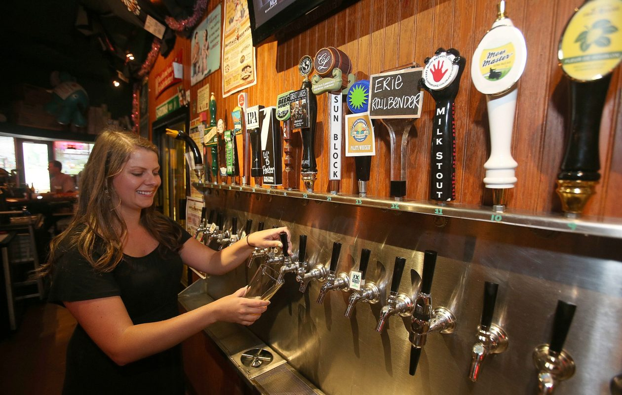 Pizza Plant will come to the rescue and on April 8 offer beers that have been brewed for the inaugural Canadian American Beer Festival, which has been postponed. (Robert Kirkham/News file photo)
