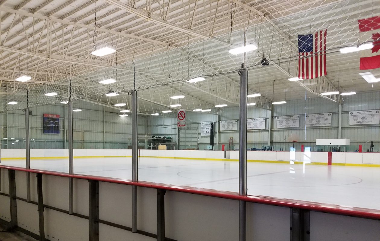 The Town of Tonawanda is weighing several upgrades to its recreational facilities, including a new ice arena located next to the outdated Brighton ice arena. (Buffalo News file photo)