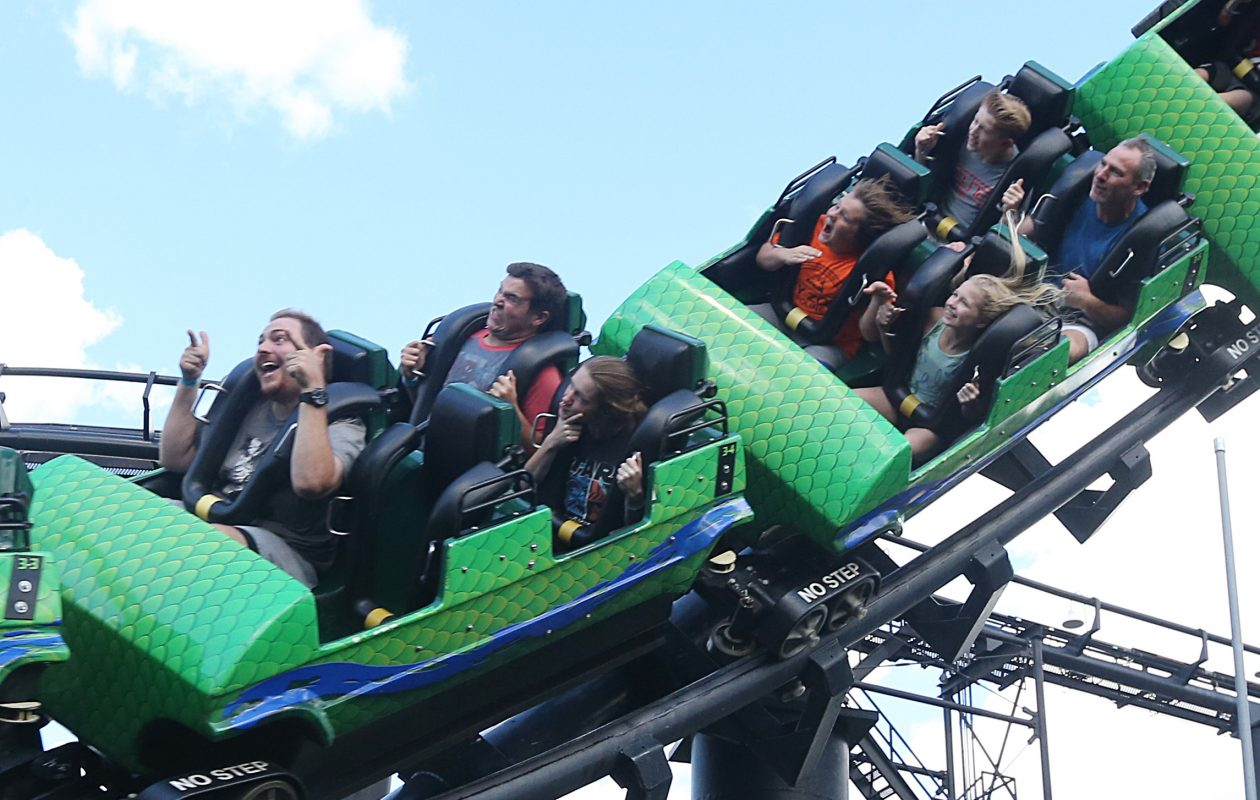 Darien Lake is looking to fill 1,600 seasonal positions. (Sharon Cantillon/Buffalo News)