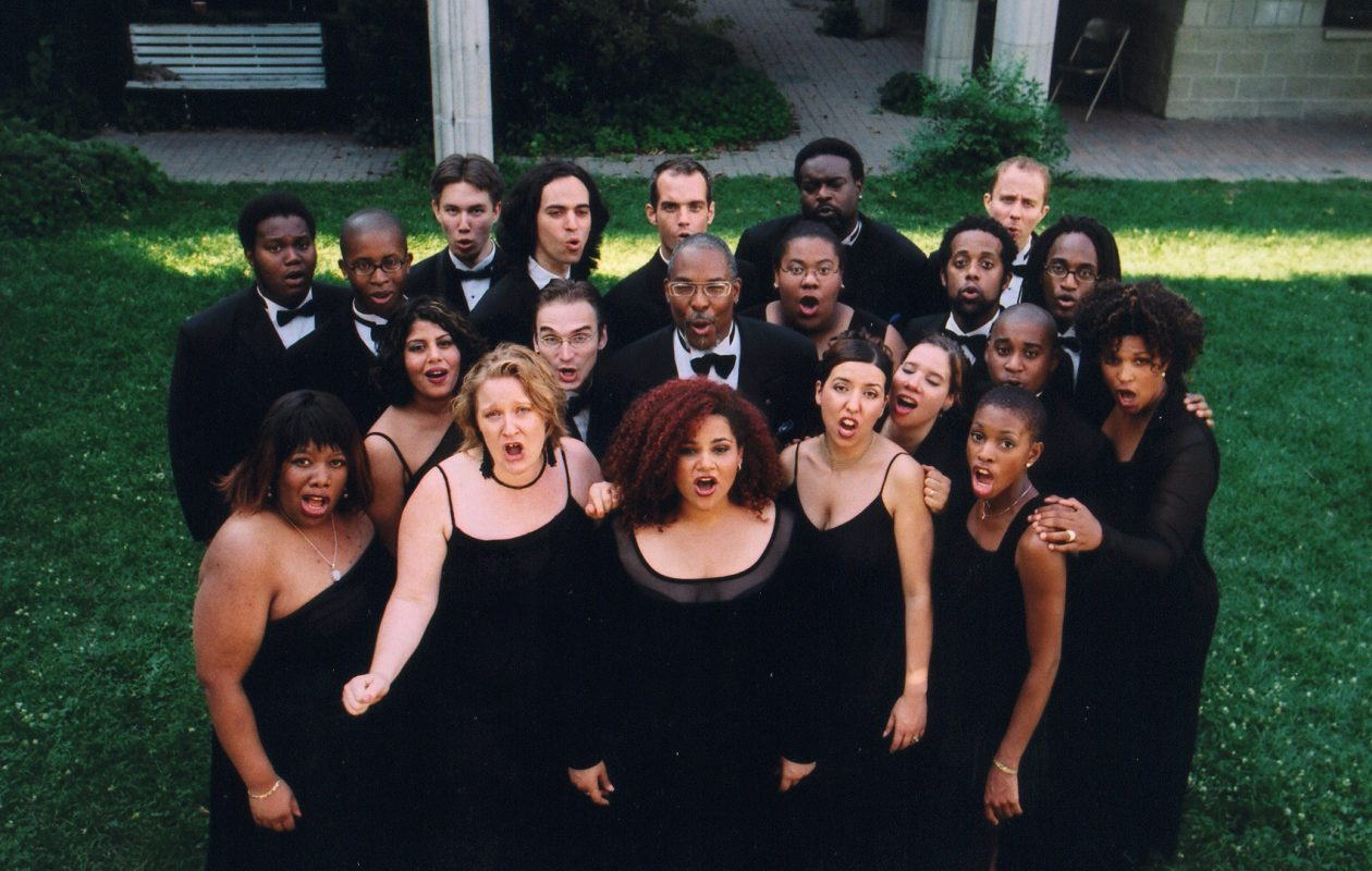 The Nathaniel Dett Chorale is giving a concert with Buffalo's Harmonia Chamber Singers.