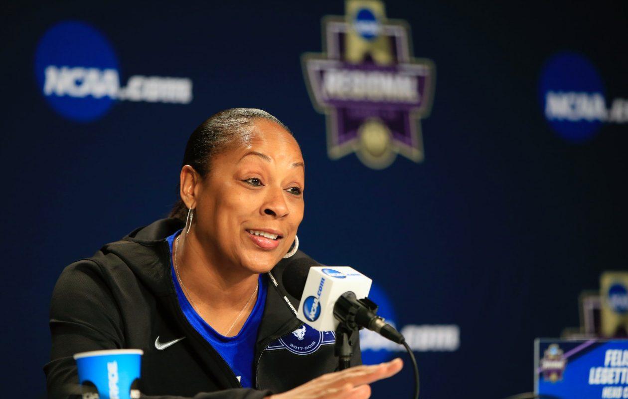 University at Buffalo head coach Felisha Legette-Jack. (Harry Scull Jr./Buffalo News)