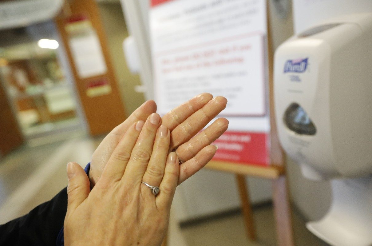 Good hand hygiene is considered an effective way to avoid or prevent spreading the flu virus.