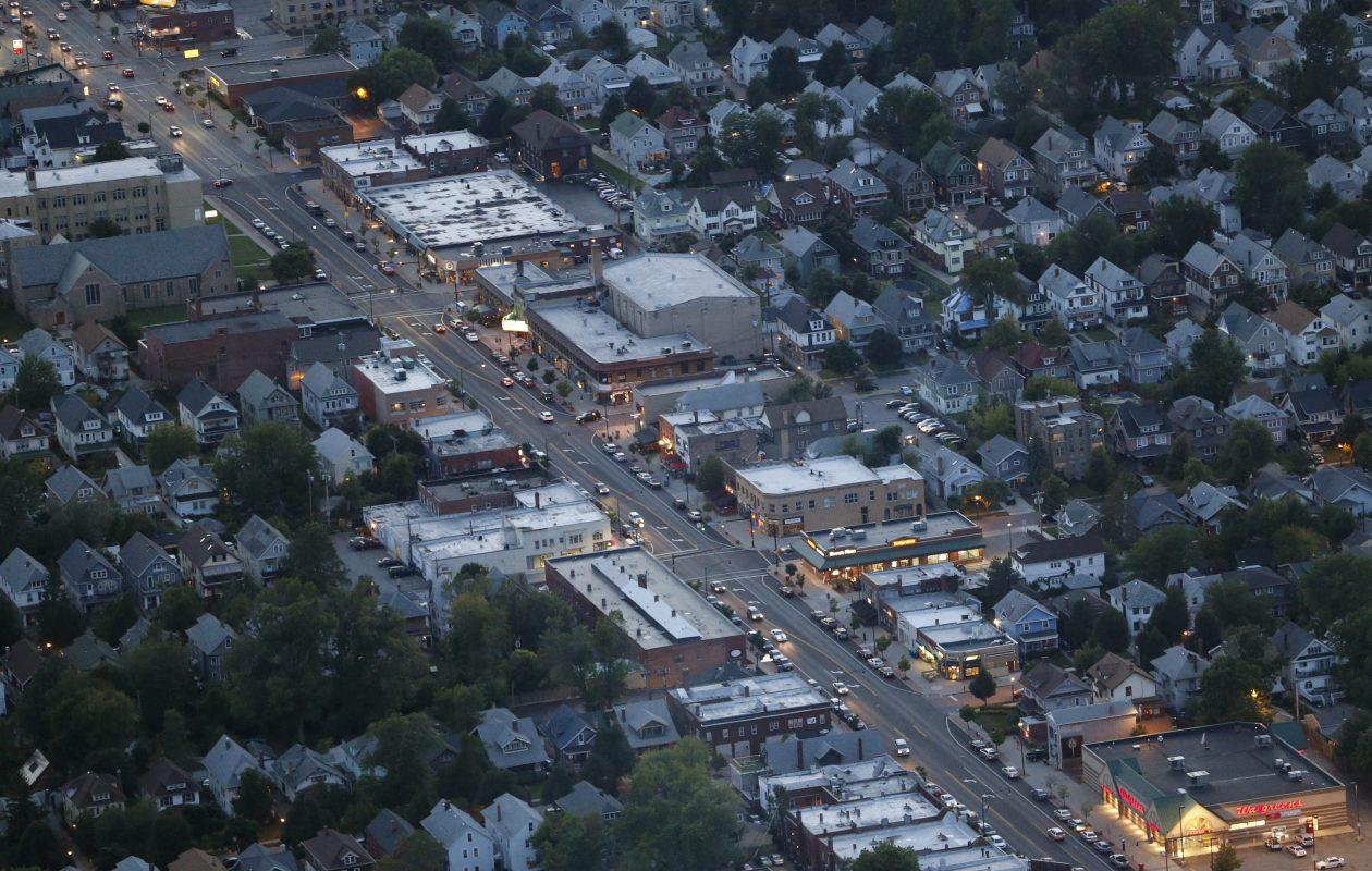 A new project is planned for Hertel Avenue in North Buffalo. (Derek Gee/Buffalo News)