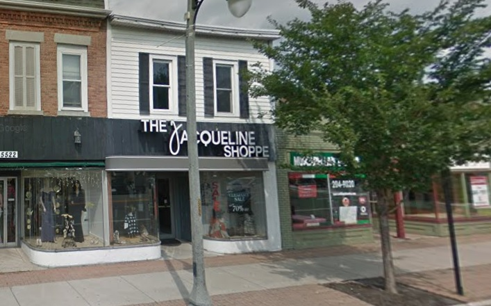 The Jacqueline Shoppe in Williamsville is closing. (Google image)