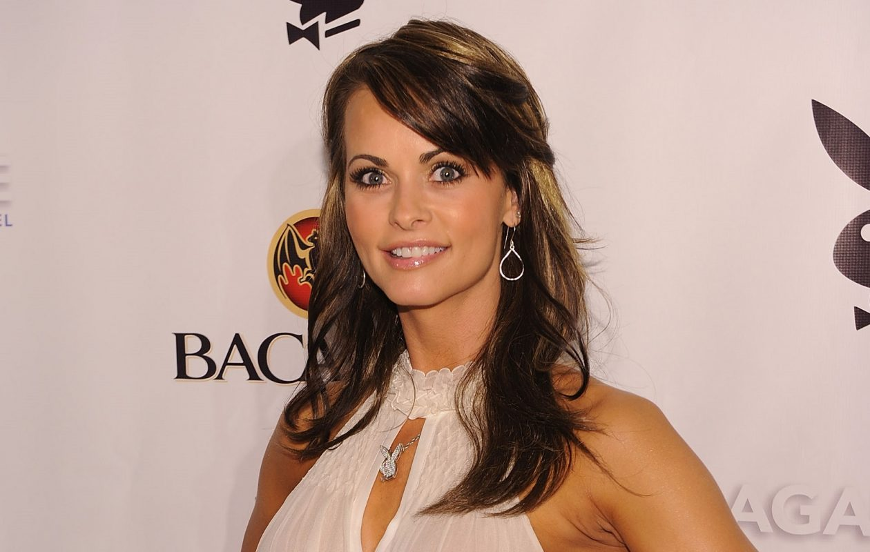 During an interview with Anderson Cooper, former Playmate Karen McDougal said she loved President Trump. (Getty Images)