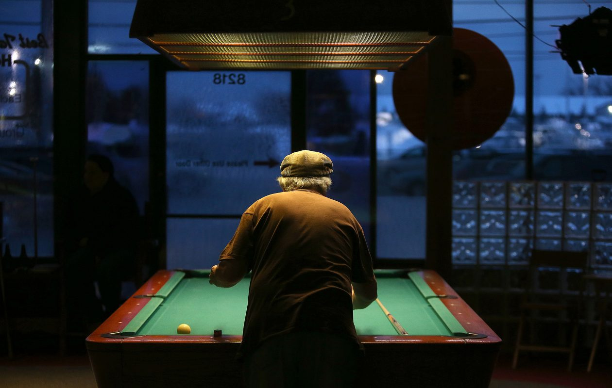 Bison Billiards has moved from its Main Street location, pictured here. (Robert Kirkham/Buffalo News)