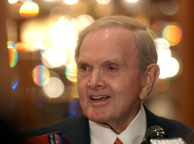The foundation of the late Buffalo Bills owner Ralph C. Wilson Jr. is putting up $5 million for STEM – science, technology, engineering and math – programs in the Buffalo and Detroit areas. (Derek Gee/News file photo)