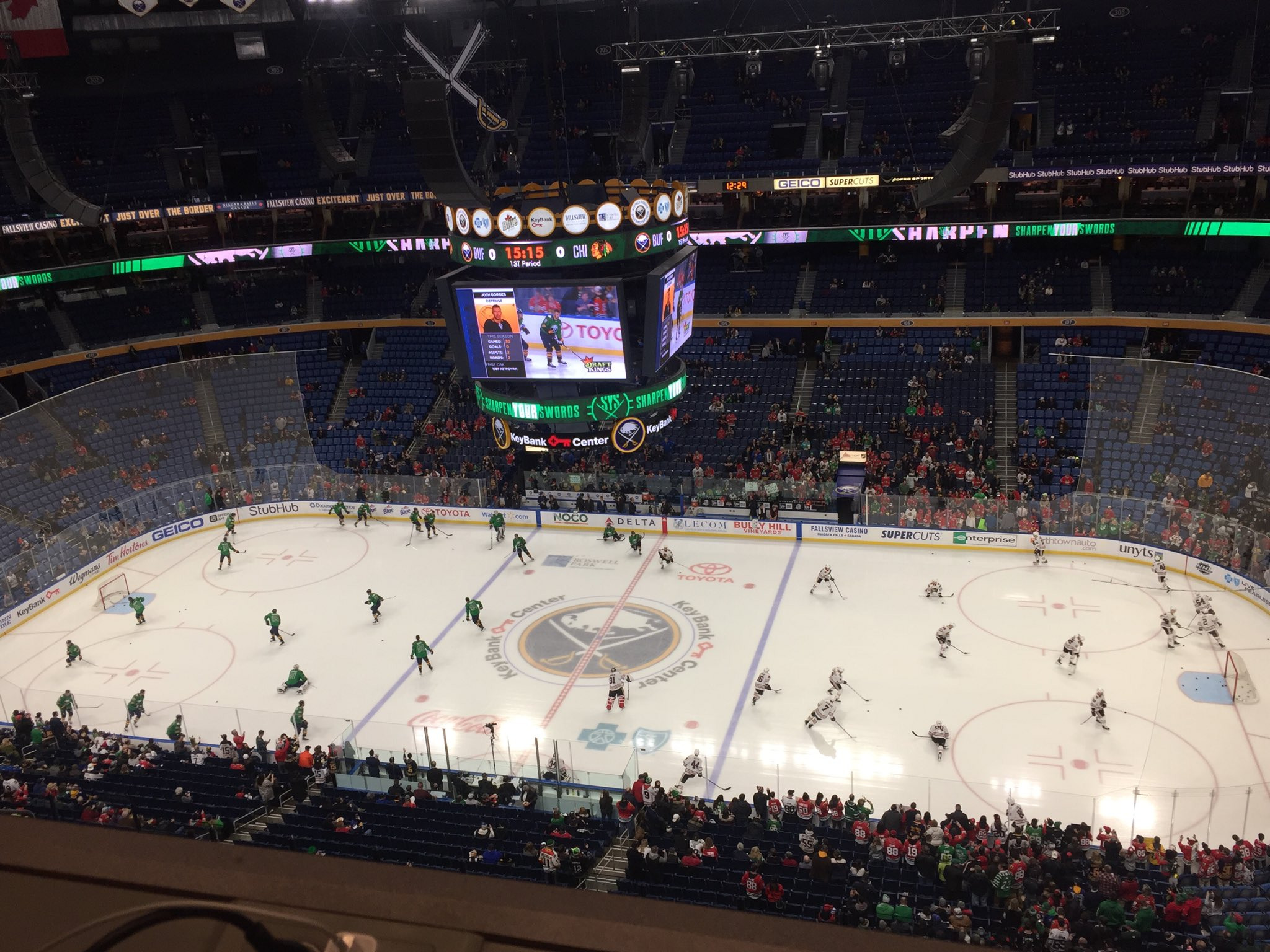 Live coverage: Chicago Blackhawks at Buffalo Sabres