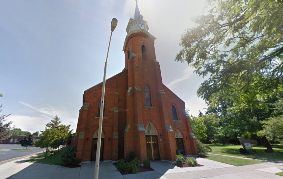 The pastor of St. Elizabeth Ann Seton Church in Dunkirk was placed on leave Monday. (Google Images)