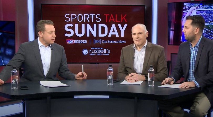 Channel 2's Adam Benigni and Buffalo News Bills reporters Vic Carucci and Jay Skurski discuss a busy week for the Bills.