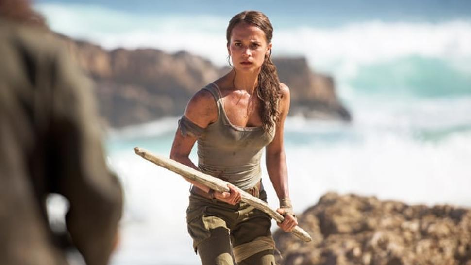 Alicia Vikander is the new 'Tomb Raider.'