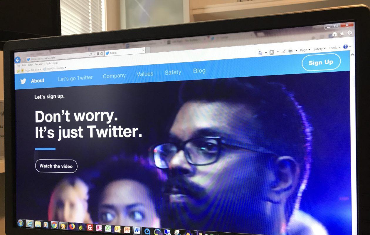 Twitter advises users not to worry – but they ought to worry about what's true and what's not. (Jerry Zremski/Buffalo News)