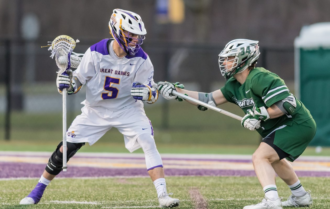 Albany lacrosse's Connor Fields, a Bishop Timon graduate, was drafted third overall by the Charlotte Hounds in this week's Major League Lacrosse Collegiate Draft. (Bill Ziskin/Albany Athletics)