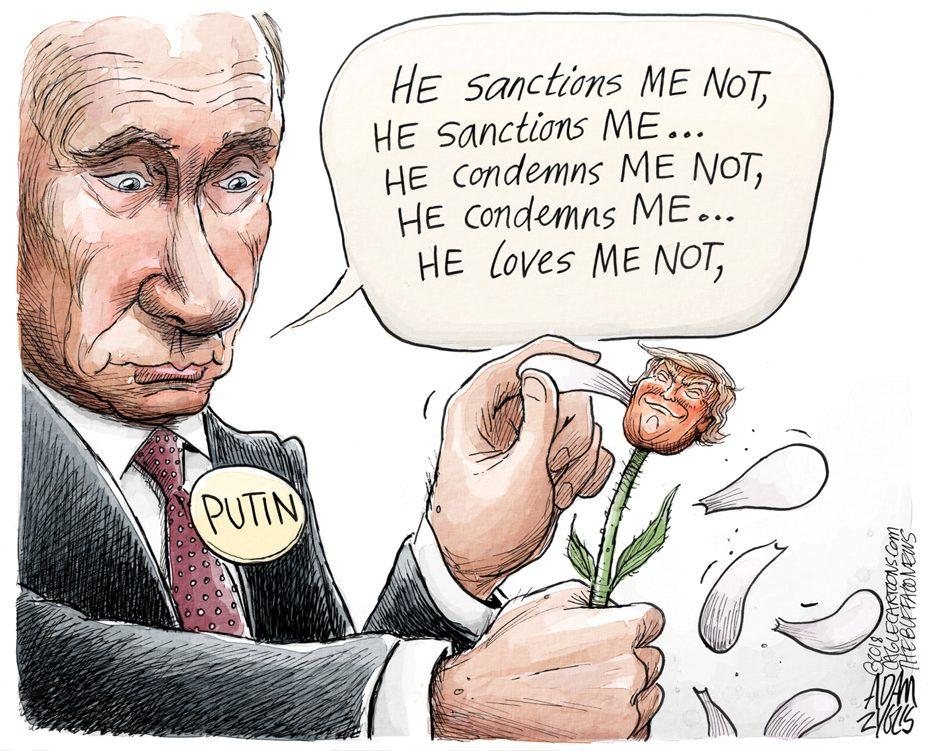 Trump and Putin: April 22, 2018