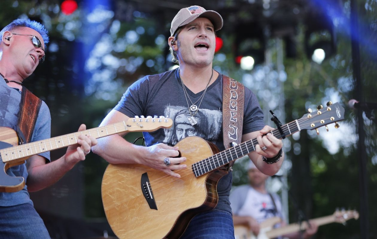 Country musician Jerrod Niemann, pictured at Jam in the Valley 2015, will headline D'Youville's Rock'n Redfest. (Harry Scull Jr./News file photo)