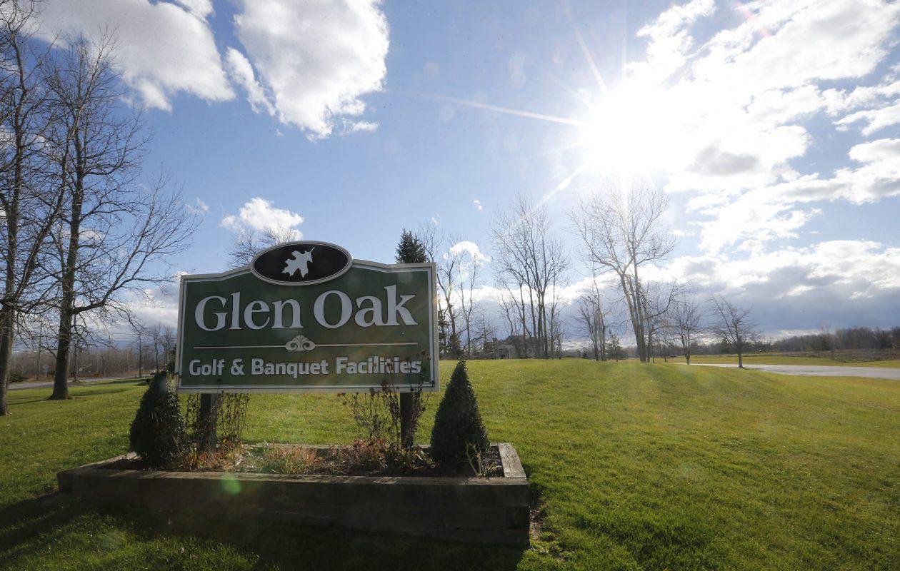 Tim Fries has big plans for Glen Oak Golf and Banquet Facility in Amherst. (Derek Gee/Buffalo News)