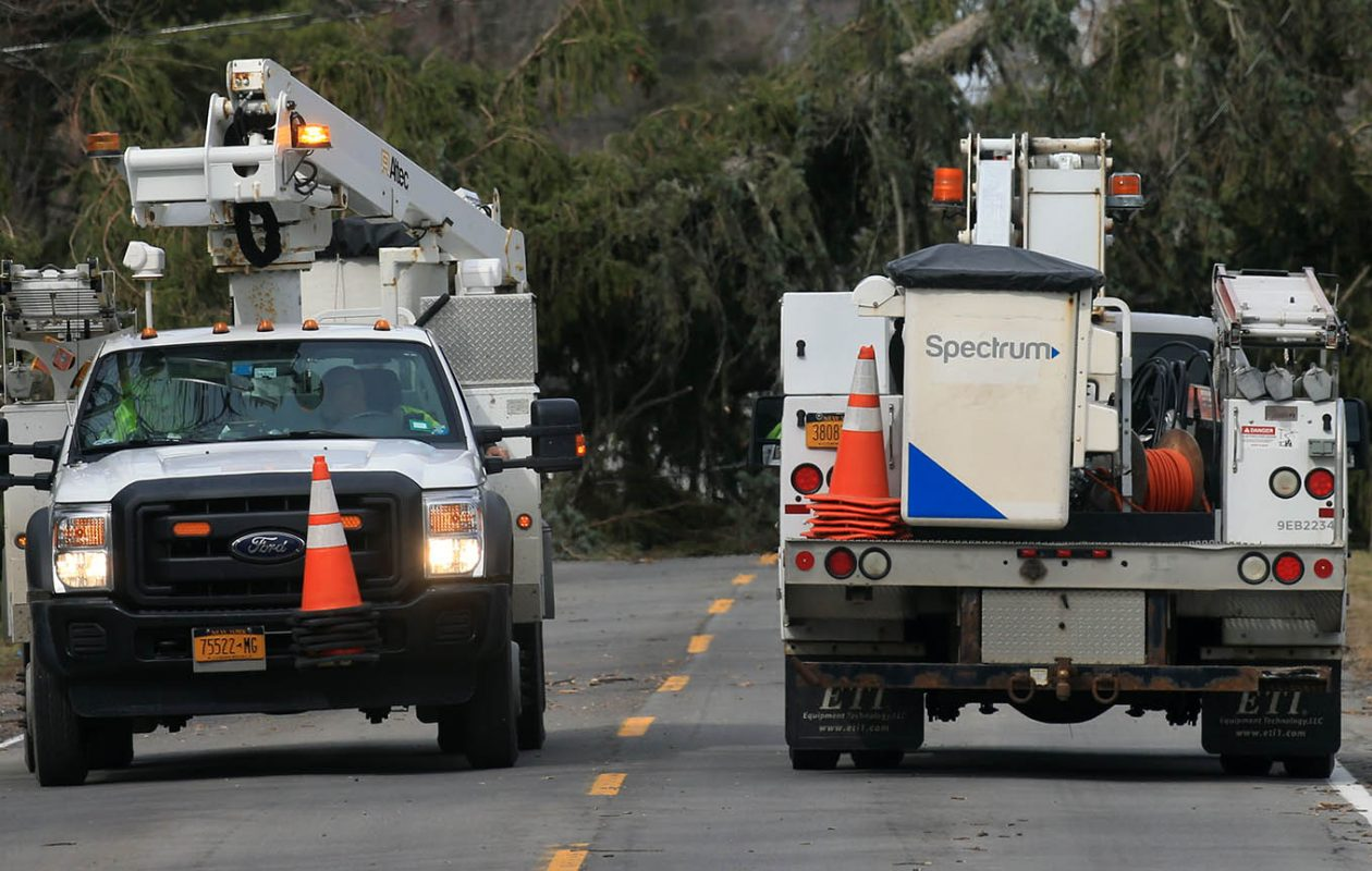Spectrum says this latest digital upgrade will improve service and free up space on its network. (John Hickey/News file photo)