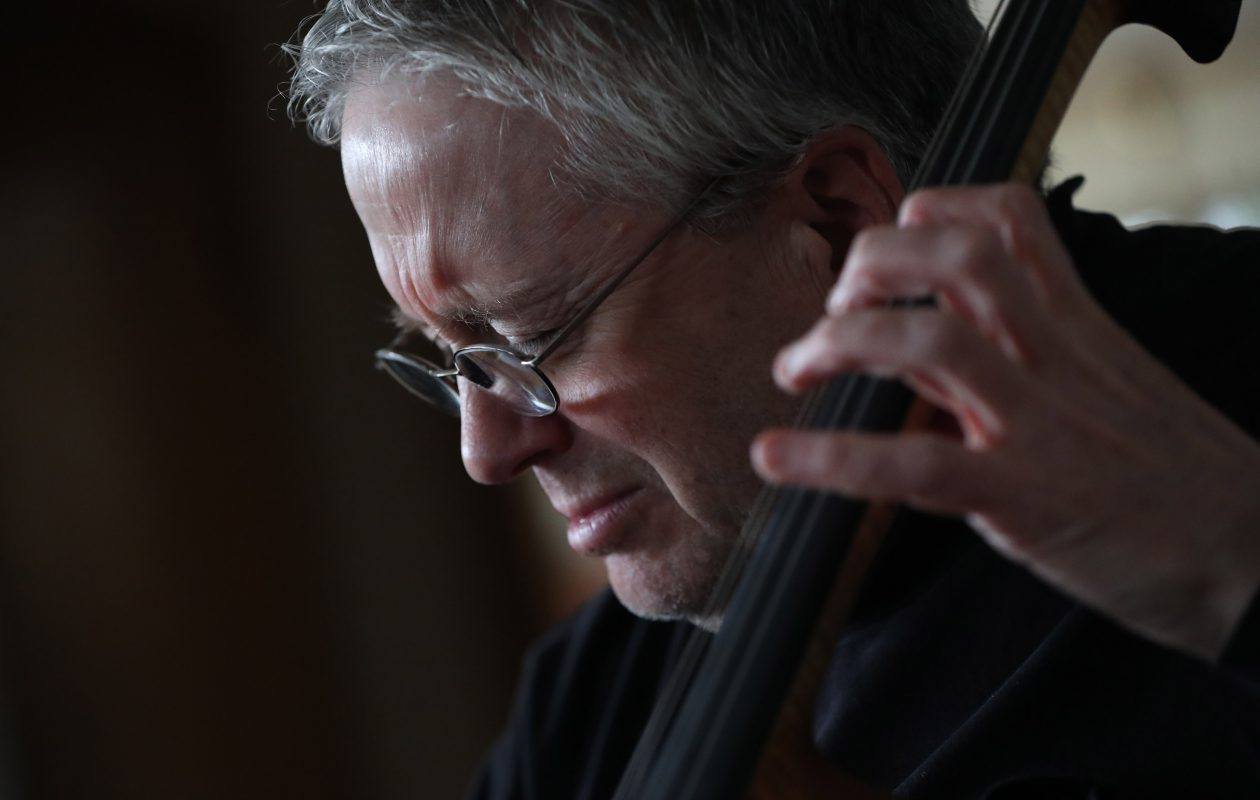 Cellist Robbie Hausmann in Buffalo, preparing in February for his trip to Auschwitz. (Sharon Cantillon/Buffalo News)