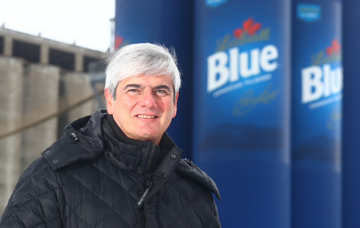 Ramon Mendiola, CEO of FIFCO, which owns Labatt USA. (John Hickey/Buffalo News)