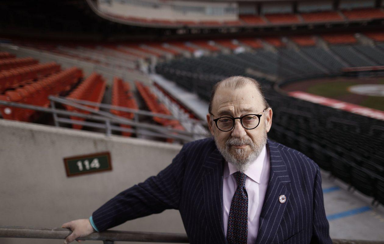 Jonathan Dandes, president of Rich Baseball Operations. (Derek Gee/Buffalo News)